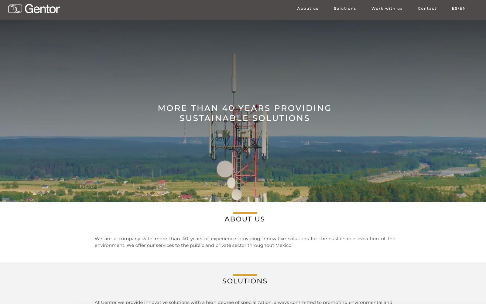 gentor-homepage