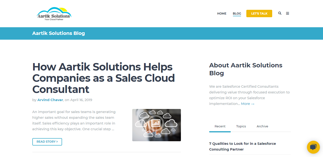 Aartik Solutions | Blog