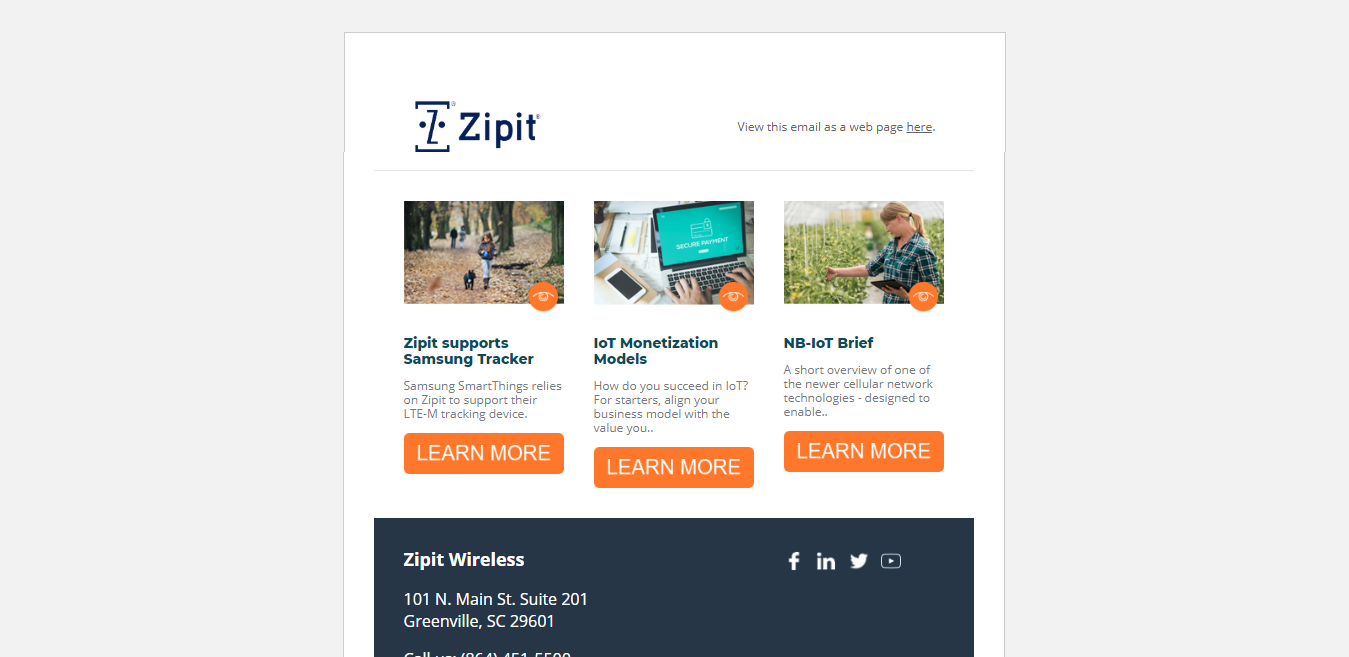 Zipit | Email Template